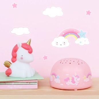 A Little Lovely Company A Little Lovely Company - Unicorn Projector Light