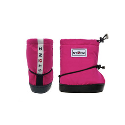 Stonz Stonz - Soft Booties for Toddler, Fuchsia