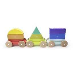 Tegu Tegu - Magnetic Shape Train, Rainbow