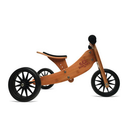Kinderfeets Kinderfeets - Tiny Tot Balance Bike 2-in-1, Bamboo