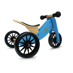 Kinderfeets Kinderfeets - Vélo d'Équilibre Tiny Tot 2-en-1, Bleu