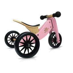 Kinderfeets Kinderfeets - Tiny Tot Balance Bike 2-in-1, Pink