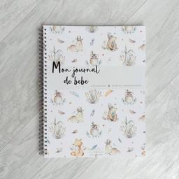 Moments ancrés Moments Ancrés - Livre de Naissance, Mon Journal de Bébé