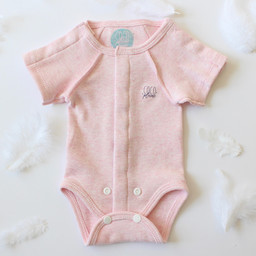 Coco Plume Coco Plume - Onesie for Premature, Pink