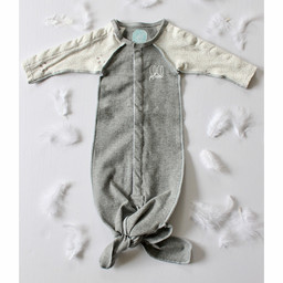 Coco Plume Coco Plume - Baby Knotted Sleep Gown, Panda
