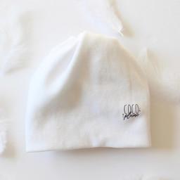 Coco Plume Coco Plume - Tuque pour Prématuré, Blanc