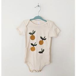 Ma petite portée Ma Petite Portée - Organic Cotton Bodysuit, Lemon