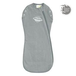 Perlimpinpin Perlimpinpin - Bamboo Newborn Sleep Bag, Planet Pebble Grey