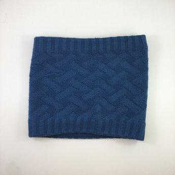 Broel Broel - Knitted Scarf Mattia, Steel Blue