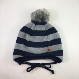 Broel Broel - Gaspare Hat, Grey Navy
