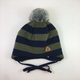 Broel Broel - Gaspare Hat, Green Navy