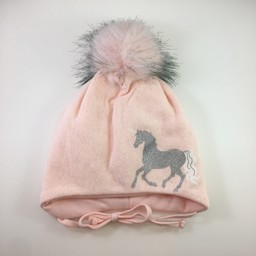 Broel Broel - Iliada Hat, Pink Unicorn