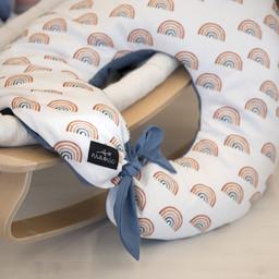 Maovic Maovic - Multipurpose Nursing Pillow, Rainbow
