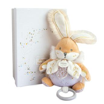 Doudou et Compagnie Doudou et Compagnie - Musical Sugar Bunny 20cm, White