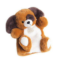 Histoire d'ours Histoire d'Ours - Marionnette en Peluche 25cm, Chien