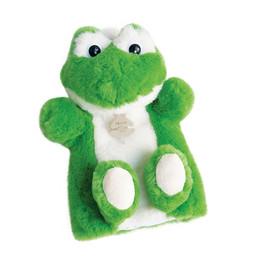 Histoire d'ours Histoire d'Ours - Plush Puppet 25cm, Frog