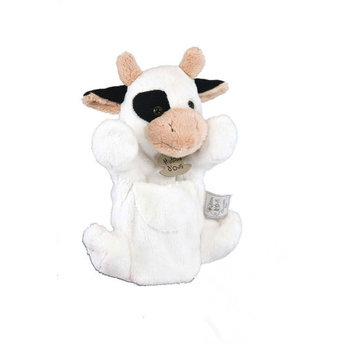 Histoire d'ours Histoire d'Ours - Plush Puppet 25cm, Cow