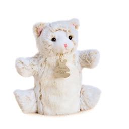 Histoire d'ours Histoire d'Ours - Marionnette en Peluche 25cm, Chat