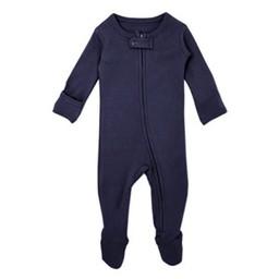 L'ovedbaby L'ovedbaby - Pyjama à Pattes en Coton Biologique, Marine