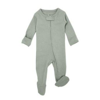 L'ovedbaby L'ovedbaby - Pyjama à Pattes en Coton Biologique, Vert Pâle
