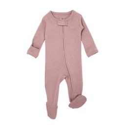 L'ovedbaby L'ovedbaby - Pyjama à Pattes en Coton Biologique, Rose Mauve