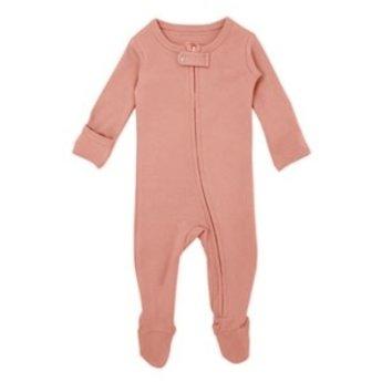 L'ovedbaby L'ovedbaby - Pyjama à Pattes en Coton Biologique, Corail