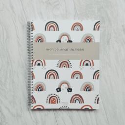 Moments ancrés Moments Ancrés - Baby Album, Mon Journal de Bébé, Rainbows