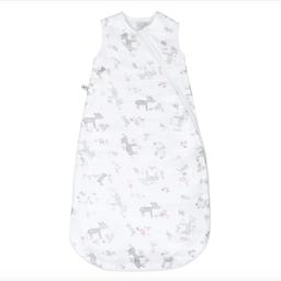 Perlimpinpin Perlimpinpin - Cotton Muslin Nap Bag 4 Layers, Pink Forest