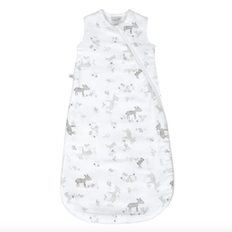 Perlimpinpin Perlimpinpin - Cotton Muslin Nap Bag 4 Layers, Green Forest