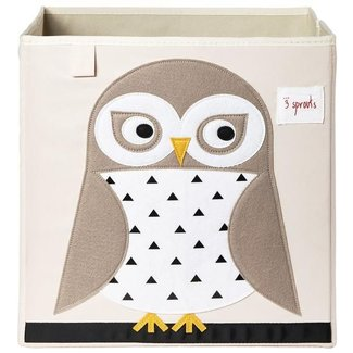 3 sprouts 3 Sprouts - Storage Box, Owl