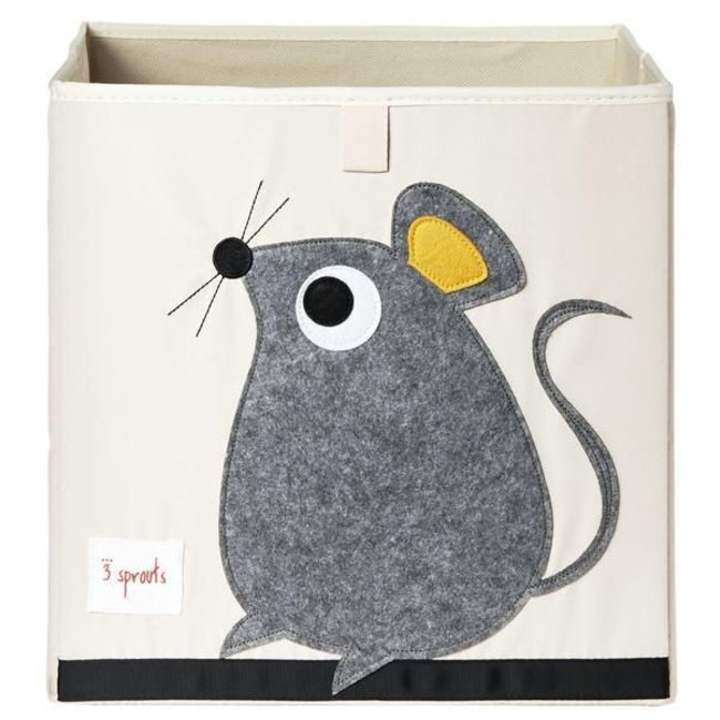3 sprouts 3 Sprouts - Storage Box, Grey Mouse