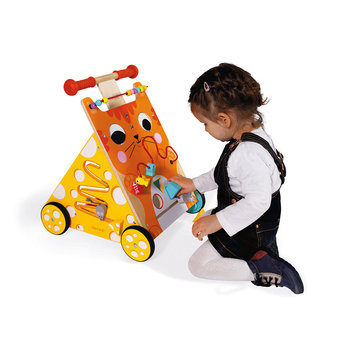 Janod Janod - I Learn to Walk, Multi-Activity Walker, Cat
