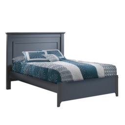 """Natart Juvenile Natart Taylor - Double Bed 54"""" with Low Profile Footboard and Rails"""