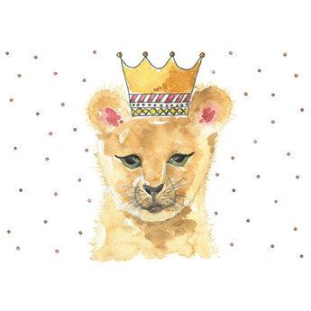 Stéphanie Renière - Greeting Card, Lionel the Lion