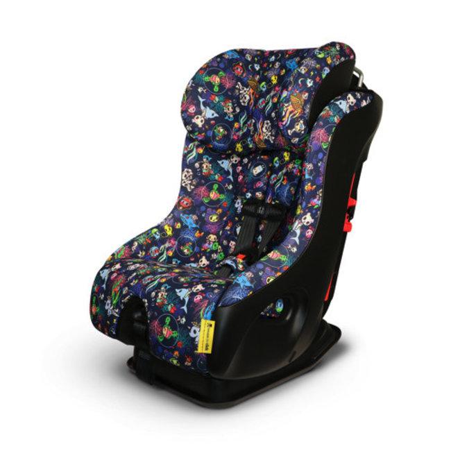 Clek Clek FLLO - Crypton+ Fabric Car Seat, Tokidoki Reef Rider