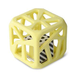 Munch Mitt Chew Cube - Theething Cube, Yellow