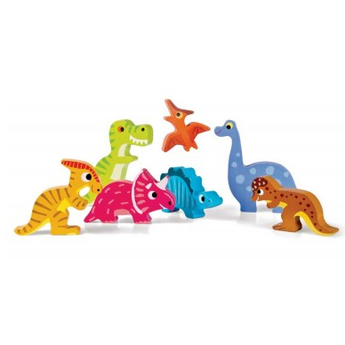 Janod Janod - Chunky Casse-Tête Dinosaures/Dino Chunky Puzzle