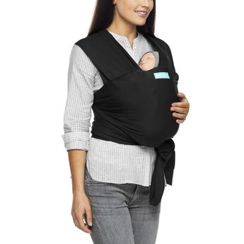 Moby Wrap Moby Wrap - Bamboo Baby Carrier Wrap, Black