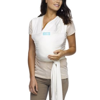 Moby Wrap Moby Wrap - Bamboo Baby Carrier Wrap, Vanilla