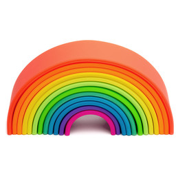 Dëna Dëna - Large Rainbow Toy, Neon