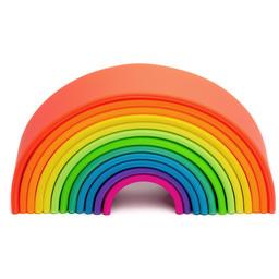Dëna Dëna - Large Rainbow Toy, Neon