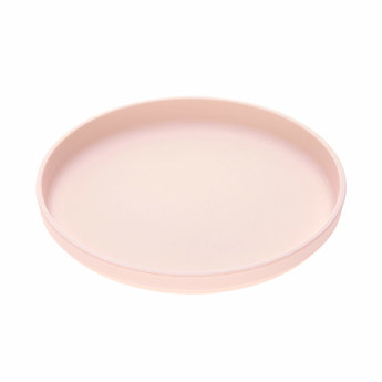 Lässig Lässig - Set of 2 Bamboo Plates for Baby, Light Pink/Grey