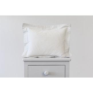 Bouton Jaune Bouton Jaune - 10x13 Inches Pillow Cover, Liberté, Grey Stripe