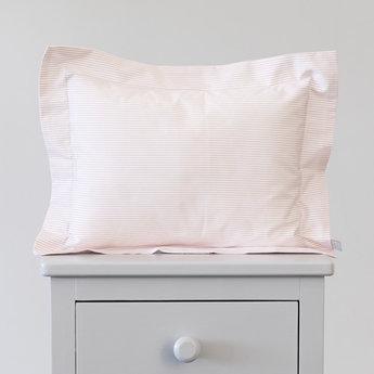 Bouton Jaune Bouton Jaune - 10x13 Inches Pillow Cover, Liberté, Pink Stripe