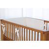 Bouton Jaune Bouton Jaune - Bed Half Bumper, Bout de Ficelle, White
