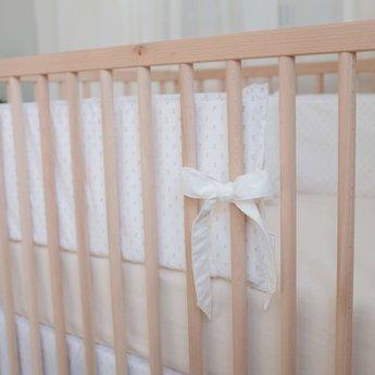 Bouton Jaune Bouton Jaune - Bed Half Bumper, Bout de Ficelle, Moka