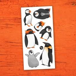 Pico Tatouages Temporaires Pico Tatoo - Tatouages Temporaires, Les Charmants Pingouins