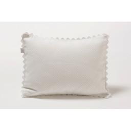 Bouton Jaune Bouton Jaune - Cache-Oreiller 10x13 Pouces, Trois Petits Pois/Trois Petits Pois 10x13 Inches Pillow Cover, Pois Bleus/Blue Dots