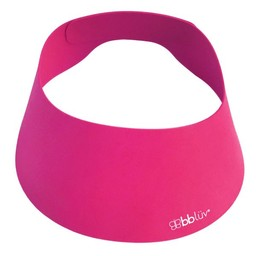 bblüv BBLüv - Casquette Protectrice pour le Bain Kap/Kap Silicone Shampoo Repellant Cap, Rose/Pink