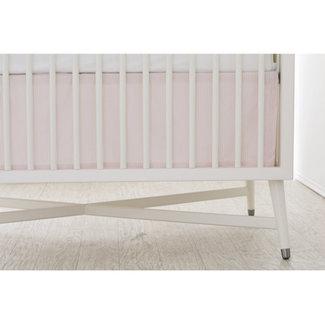 Bouton Jaune Bouton Jaune - Bedskirt, Liberté, Pink Stripe